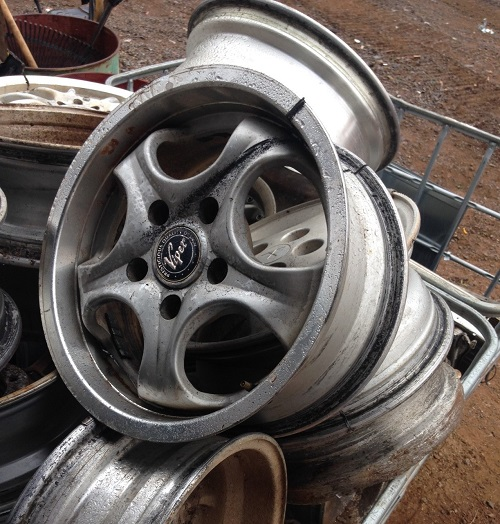 Scrap Metal for Car Parts